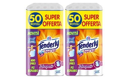 100 rotoli di carta igienica Tenderly a 19,90 € (20% di sconto)