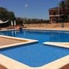 Menú con acceso a piscina