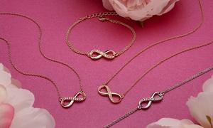 Collier et bracelet Infinity yours Swarovski®