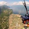 Volo in parapendio, lago di Garda
