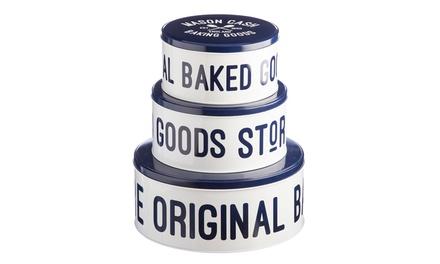 Mason Cash Set of Three Cake Tins