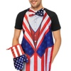 Uncle Sam-Style Apron and Mitt Set (2-Piece)