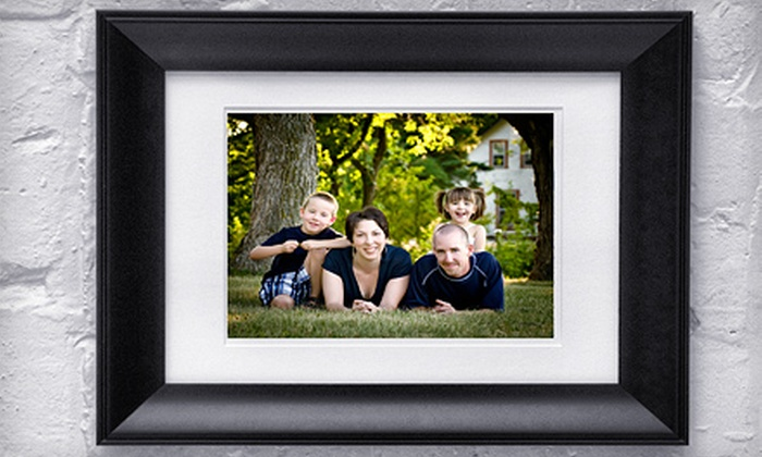Impact Photographic Design - Winnipeg: $49 for a One-Hour Family Photo Shoot with Framed Portrait ($400 Value)