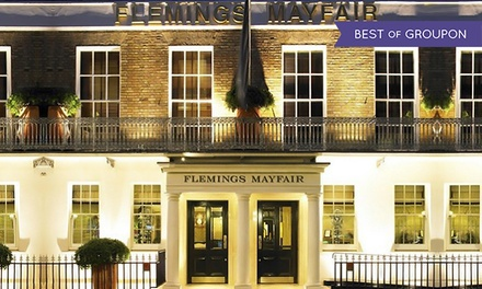 Afternoon Tea with Optional Champagne at 4* Flemings Mayfair Hotel (50% Off)