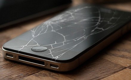 iPhone, iPad, or iPod Screen Repair from Big B World (Up to 61% Off)