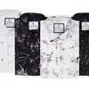 Suslo Couture Men's Slim Fit Short Sleeve Button Down Shirt