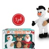 ASPCA Holiday Dog-Toy Gift Set (2- or 3-Piece)