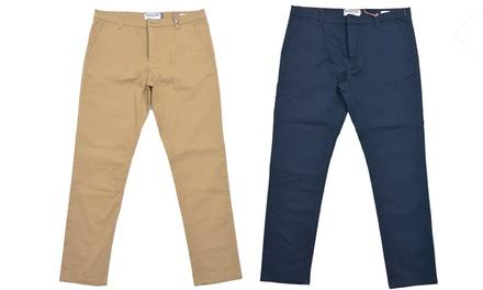 Pantalones chinos Lambretta para hombre