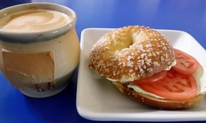 Henry Higgins Boiled Bagels: $12 for One Dozen Bagels and Two Flavored Cream Cheeses at Henry Higgins Boiled Bagels ($20 Value)