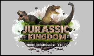 Jurassic Kingdom: Ticket to Jurassic Kingdom at Birmingham Botanical Gardens, 22 May - 2 June (Up to 30% Off)