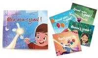 1, 2, 3, 5 ou 10 livres personnalisés pour enfant dès 7,99 € avec Story of my Name