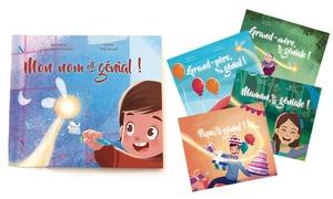 Story of my Name: 1, 2, 3, 5 ou 10 livres personnalisés pour enfant dès 7,99 € avec Story of my Name