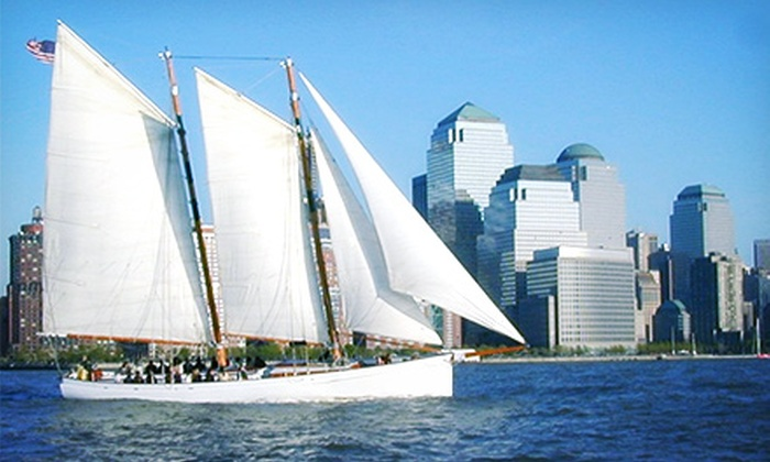 Classic Harbor Line - Chelsea: Two-Hour Sailing Cruise or 90-Minute Narrated Yacht Cruise for Two from Classic Harbor Line (Up to 24% Off)