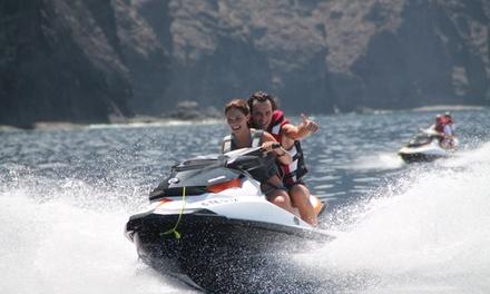 Excursión de 1, 2 o 3 horas y media en moto de agua para 1, 2 o 4 personas desde 64,90 € con Tibu Jet Safari