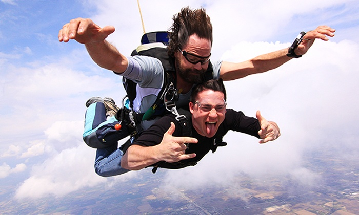 Skydive the Rock - Skydive the Rock: Tandem Skydiving Jump for One at Skydive the Rock (Up to 38% Off)
