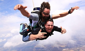 Skydive the Rock: Tandem Skydiving Jump for One at Skydive the Rock (Up to 38% Off)