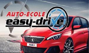 Auto École EasyDrive: 12 uren theorie en tot 20 uren praktijkles bij rijschool Easy Drive
