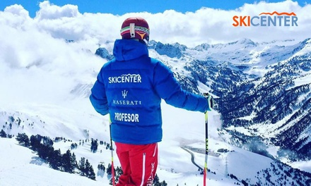 Clases de esquí o snowboard para niño o adulto en Skicenter España (hasta 47% de descuento)