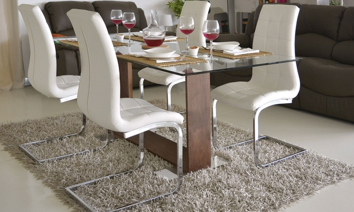 4 sedie da soggiorno Emily | Groupon