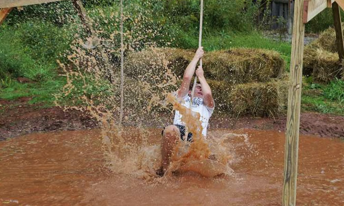 Halloween Park - Strinestown, PA: $49 for Haunted Mud Run at Halloween Park on Saturday, September 12 (Up to $120 Value)