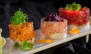Nitrogen Bar, Grill, and Sushi: $12 for $25 Worth of Sushi and Asian Gastropub Cuisine for Two at Nitrogen Bar, Grill, and Sushi