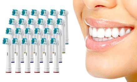 24 met OralB compatibele opzetborstels