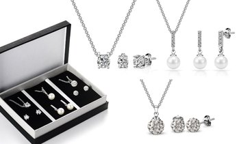 Coffret Philip Jones cristaux Swarovski®