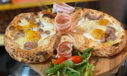 Menú para 2 o 4 con entrante, principal, postre y bebida en 450 Gradi Pizzeria Gourmet (hasta 62% de descuento)