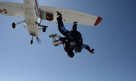 $155 for a Tandem Jump at Adventure Skydiving (Up to $279 Value)