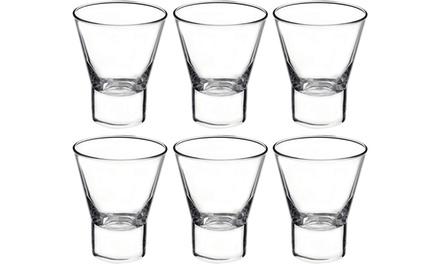 6 or 12 Bormioli Rocco 340ml Whisky Tumbler Glasses