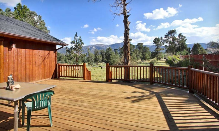 Big Bear Vacations - Big Bear Lake, CA: Two-Night Stay with Scenic Sky Chair Tickets and a Kayak Rental at Big Bear Vacations in Big Bear Lake, CA