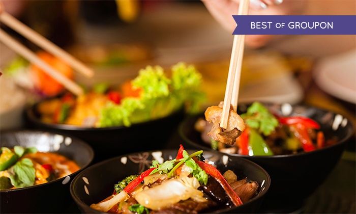 Spice & Dice Thai Restaurant - Towson: $17 for $30 Worth of Dinner for Two or More at Spice & Dice Thai Restaurant
