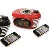 Akai Retro-Style FM Alarm Clock Radio