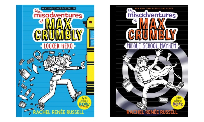 Up To 29 Off On The Misadventures Of Max Crumbly Groupon Goods