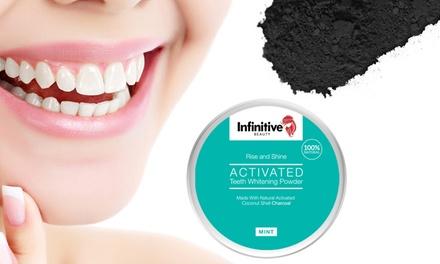 1, 2, 3 ou 6 pots de poudre de charbon pour blanchir les dents Infinitive Beauty