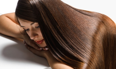 Brazilian Keratin Treatment or Japanese Hair-Straightening Treatment at Estilo 23 Hair Salon (Up to 60% Off)