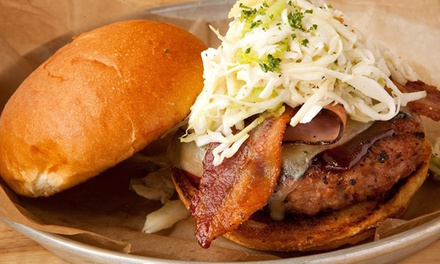 Lunch or Dinner for Two at Burger Bar Chicago (Up to 32% Off)