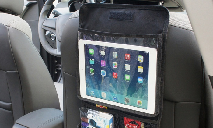 Back Seat Tablet Holders and In-Car Organisers Multi-pocket for Tidy Travel Journeys Family Kids for £2.80