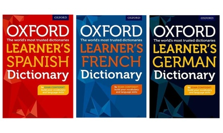 Oxford Learner's Spanish, German or French Dictionary