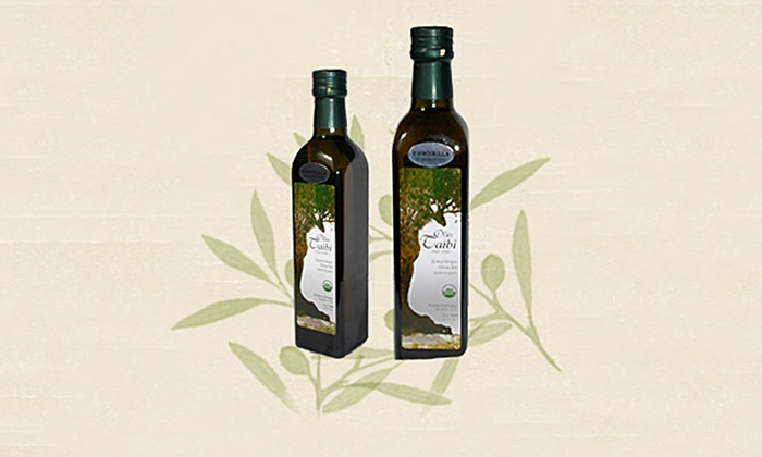 Olio Taibi: $25 for Half-Liter Bottle of Nocellara or Biancolilla Extra-Virgin Olive Oil from Olio Taibi ($49.99 Value)