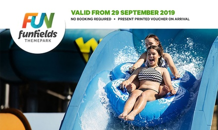 $34 for Day Entry with Unlimited Rides at Funfields Water Theme Park