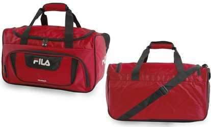 4d5755974323 Shop Groupon Fila Ace 2 Small Duffel Bag