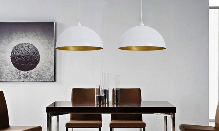 vida: 2 moderne Deckenlampen in Schwarz oder Weiß inkl. Versand