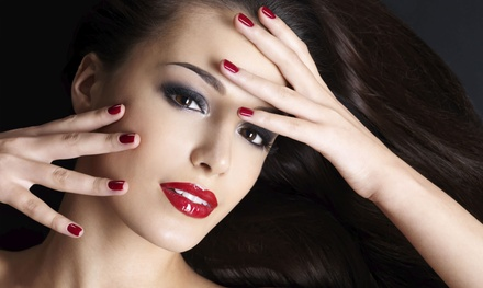 Shellac Manicure, Mani-Pedi, or 3D Full Set Design at Bella's Beauty Salon (Up to 75% Off)
