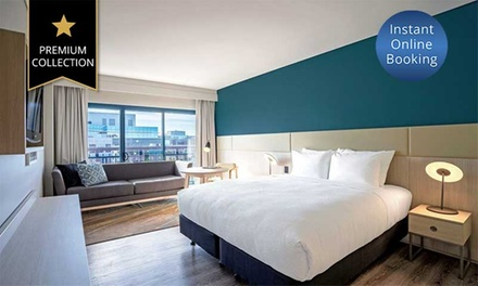 North Ryde: One , Two , or Three Night Break for Couple or Family with Wine, Wi Fi, and Late Check Out at Mystery Hotel