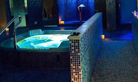 Circuito spa para 1 o 2 con opción a masaje y cena en Spa Aqua Center (hasta 57% de descuento)