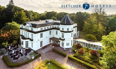 Verblijf voor twee in één van de 85 drie  en vier sterren Fletcher hotels door heel Nederland