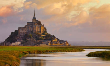 groupon daily deal - ✈ 8-Day France Vacation with Round-Trip Airfare from Great Value Vacations. Price/Person Based on Double Occupancy.