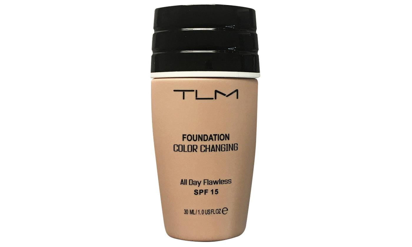 One, Two or Three 30ml Thin Tubes of TLM Magic Flawless Colour-Changing Foundation Concealer