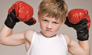 Manfredo Boxing Sports Fitness: 5 or 10 Kids Boxing Classes or One-Month Unlimited at Manfredo Boxing Sports Fitness (Up to 70% Off)